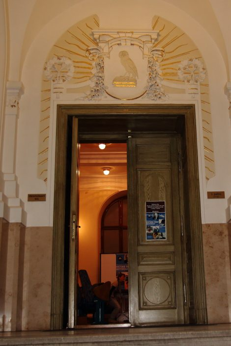 Main entrance to the event
