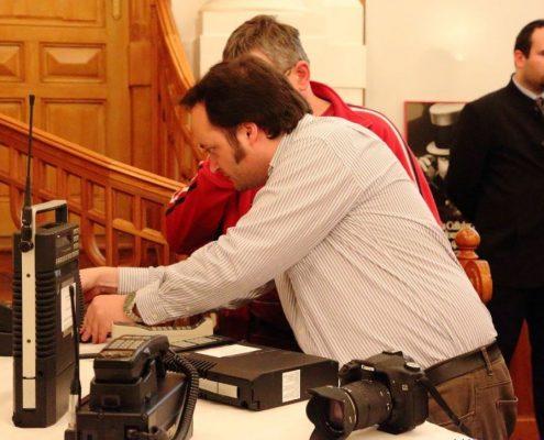 Motorola výstava a přednáška v Západočeském muzeu v Plzni 17.5.2014
