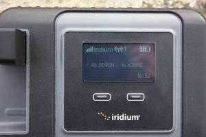 Detail displeje Iridium GO!