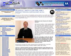 Od roku 2004 se obsah webu MojeMotorola.cz, stejně jak vzhled, zlepšil. Původní doména Motorola-online.com se již nepoužívá