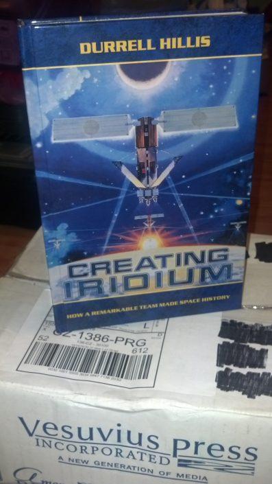 Kniha Creating Iridium (foto: Pavel Mašek)
