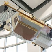 Satelit Iridium NEXT od firmy Thales Alenia Space (foto: Pavel Mašek)