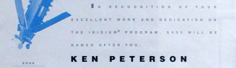 Ken Peterson - SV55